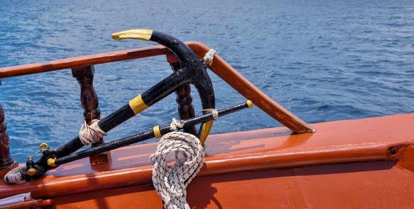 What Is the Major Danger of Anchoring a Fishing Boat from the Stern?