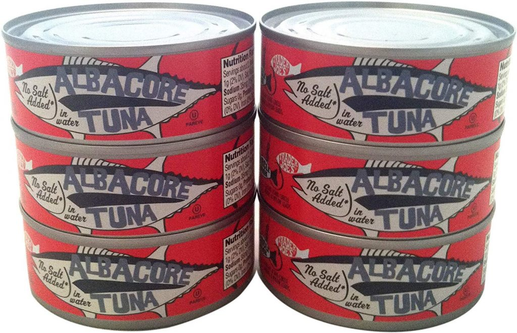 What Are The Best Canned Fish Products At Trader Joe's